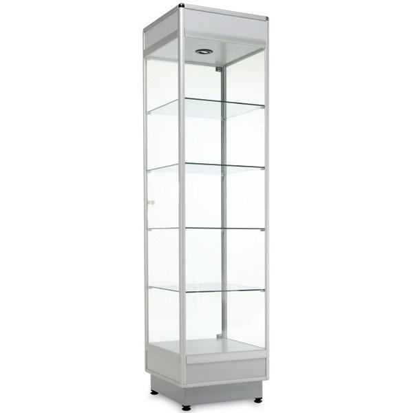 Профиль стойки для витрин из стекла